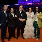 Lacma director michael govan honorees catherine opie and guillermo del toro gala co chair eva chow host committee chair alessandro michele photo matt winkelmeyer